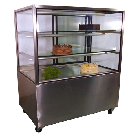 Cake Display Fridge 1.2m Square
