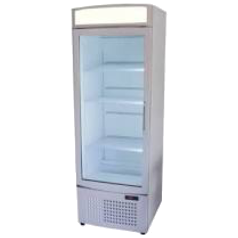 Display Fridge 1 door Bottom Mount