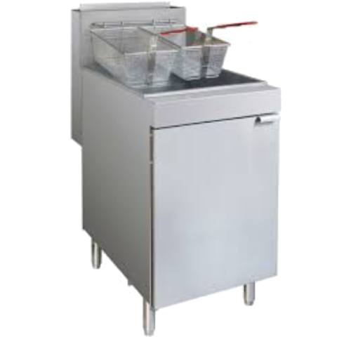 Fryer Two Basket Free Standing Gas