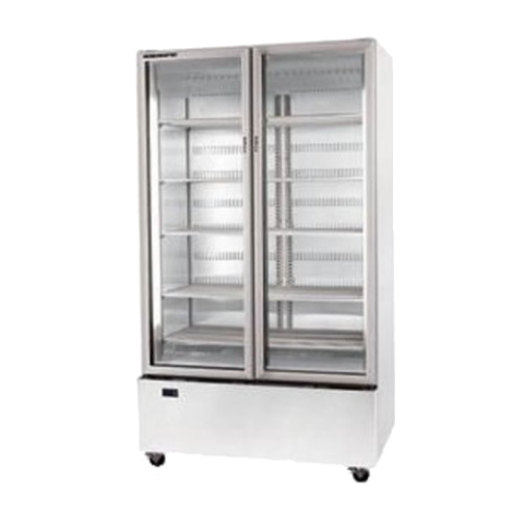 Display Fridge 2 door Bottom Mount