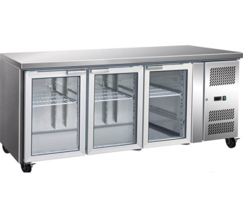 Underbar Bench Fridge Display 3 door