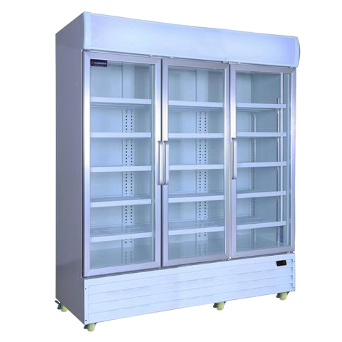 Display Fridge 3 door Upright