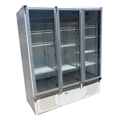 Display Fridge 3 door Bottom Mount
