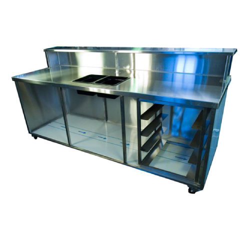 Bar Bench Stainless steel 2.3m