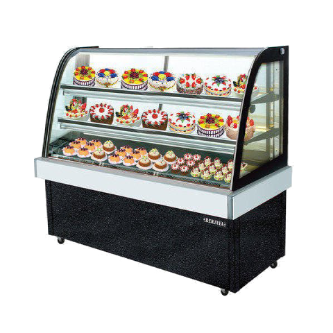 Cake Display Fridge 0.9m Curved