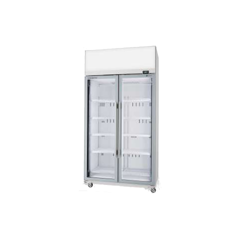 Display Fridge 2 Door Upright